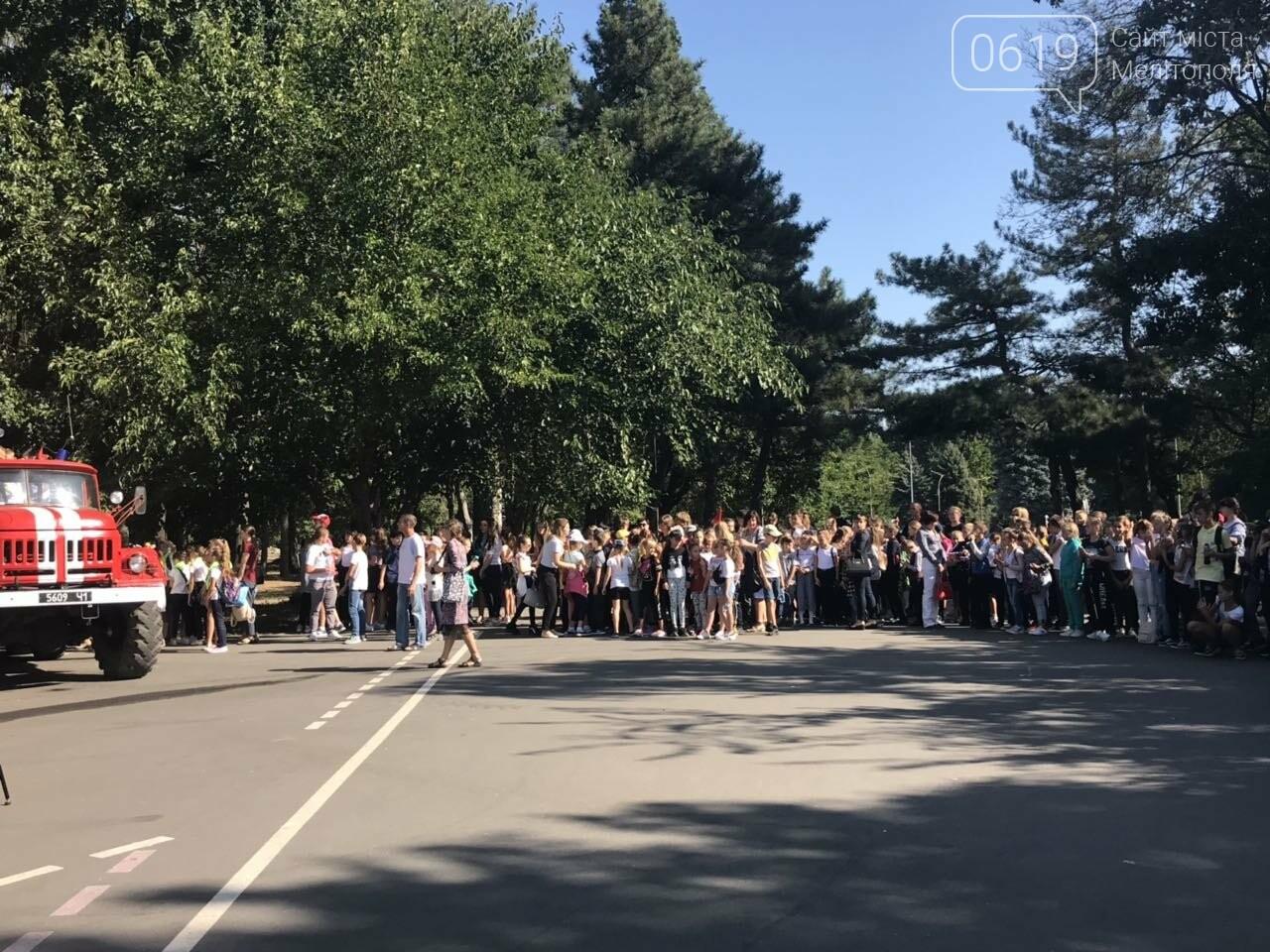 Мелитопольские спасатели провели масштабную акцию для детей, фото-1
