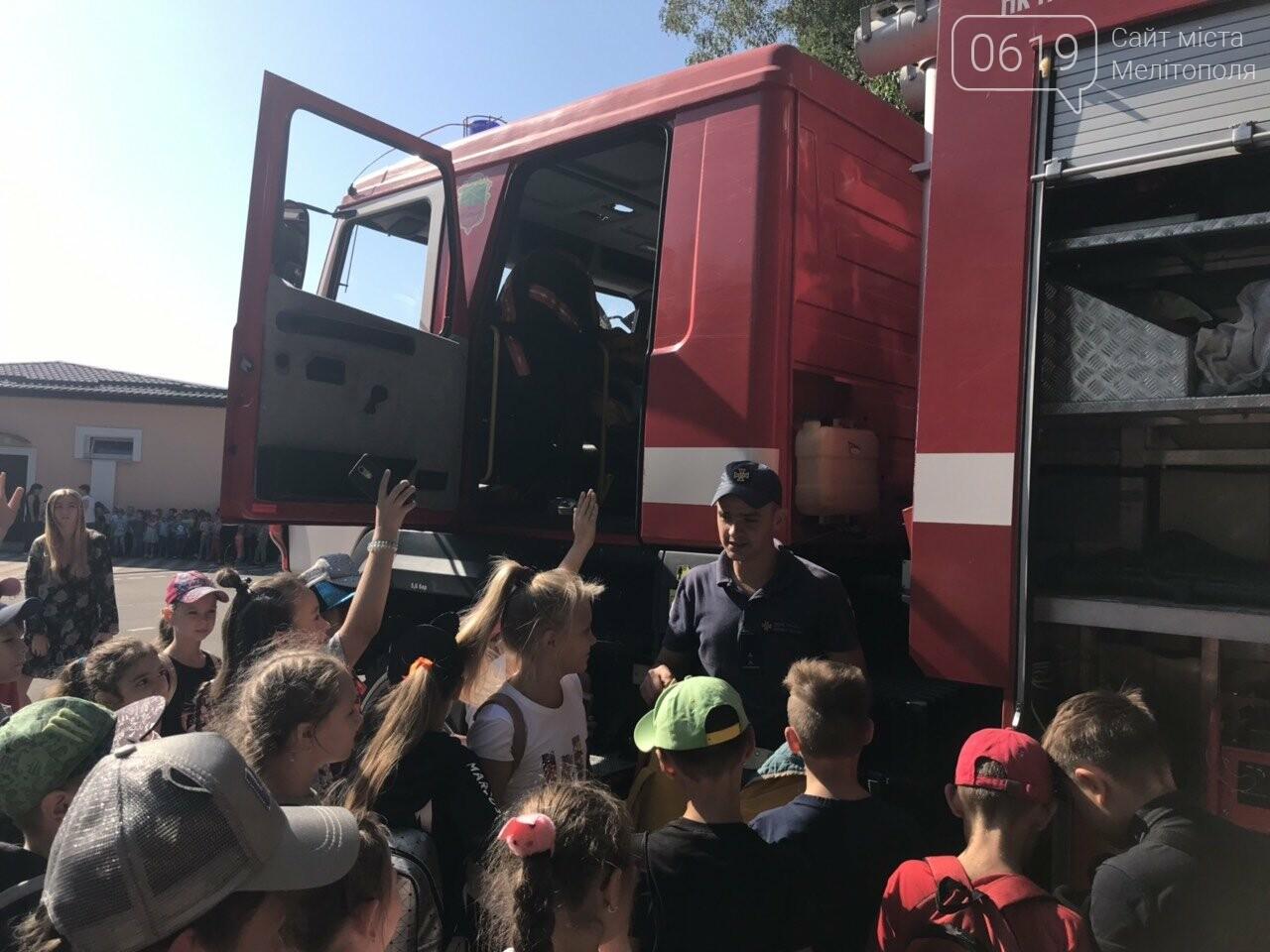 Мелитопольские спасатели провели масштабную акцию для детей, фото-4
