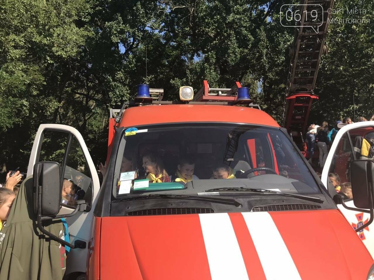 Мелитопольские спасатели провели масштабную акцию для детей, фото-5