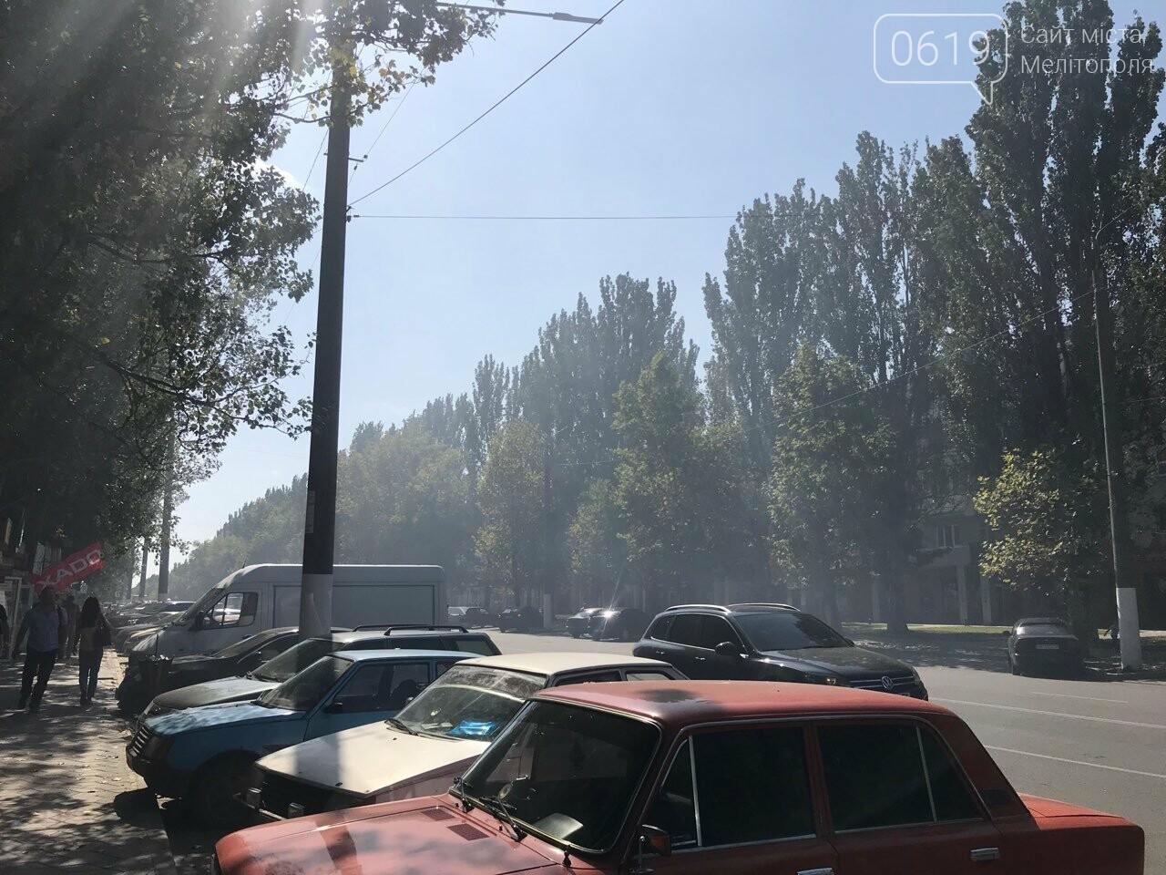 Микрорайон в дыму: в Мелитополе тушат масштабный пожар , фото-3