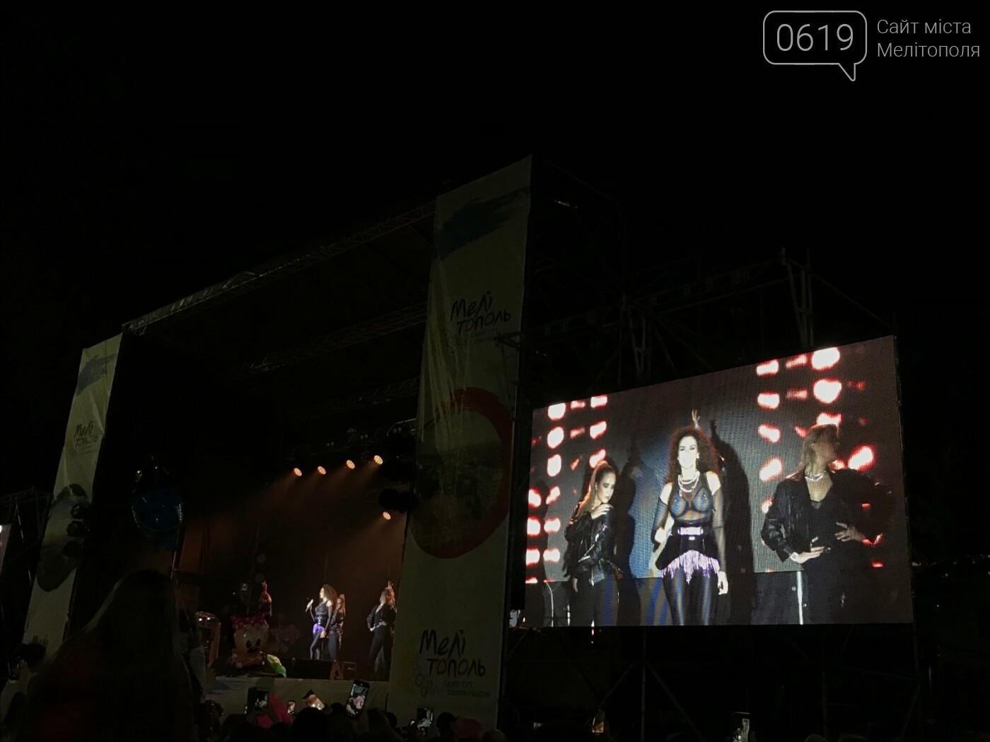 В Мелитополе празднование Дня города завершилось ярким концертом и фейерверком , фото-1