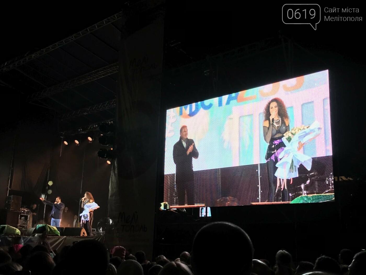 В Мелитополе празднование Дня города завершилось ярким концертом и фейерверком , фото-5