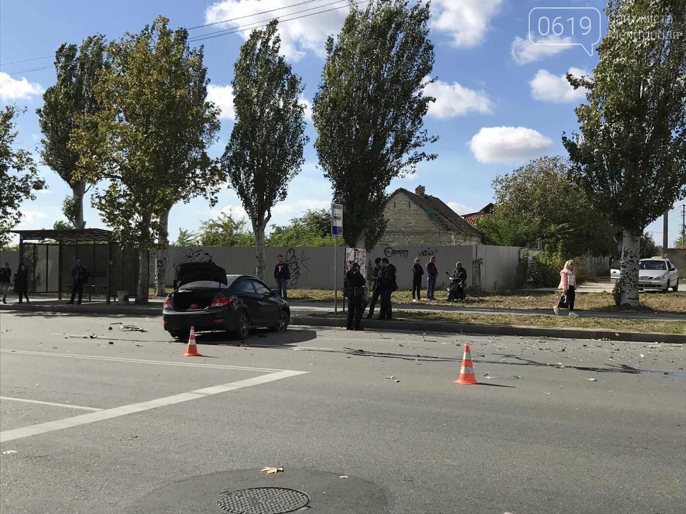 В Мелитополе произошло ДТП с пострадавшими, - ФОТО, ВИДЕО, фото-1