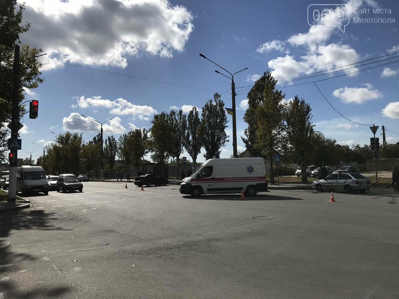 В Мелитополе произошло ДТП с пострадавшими, - ФОТО, ВИДЕО, фото-2