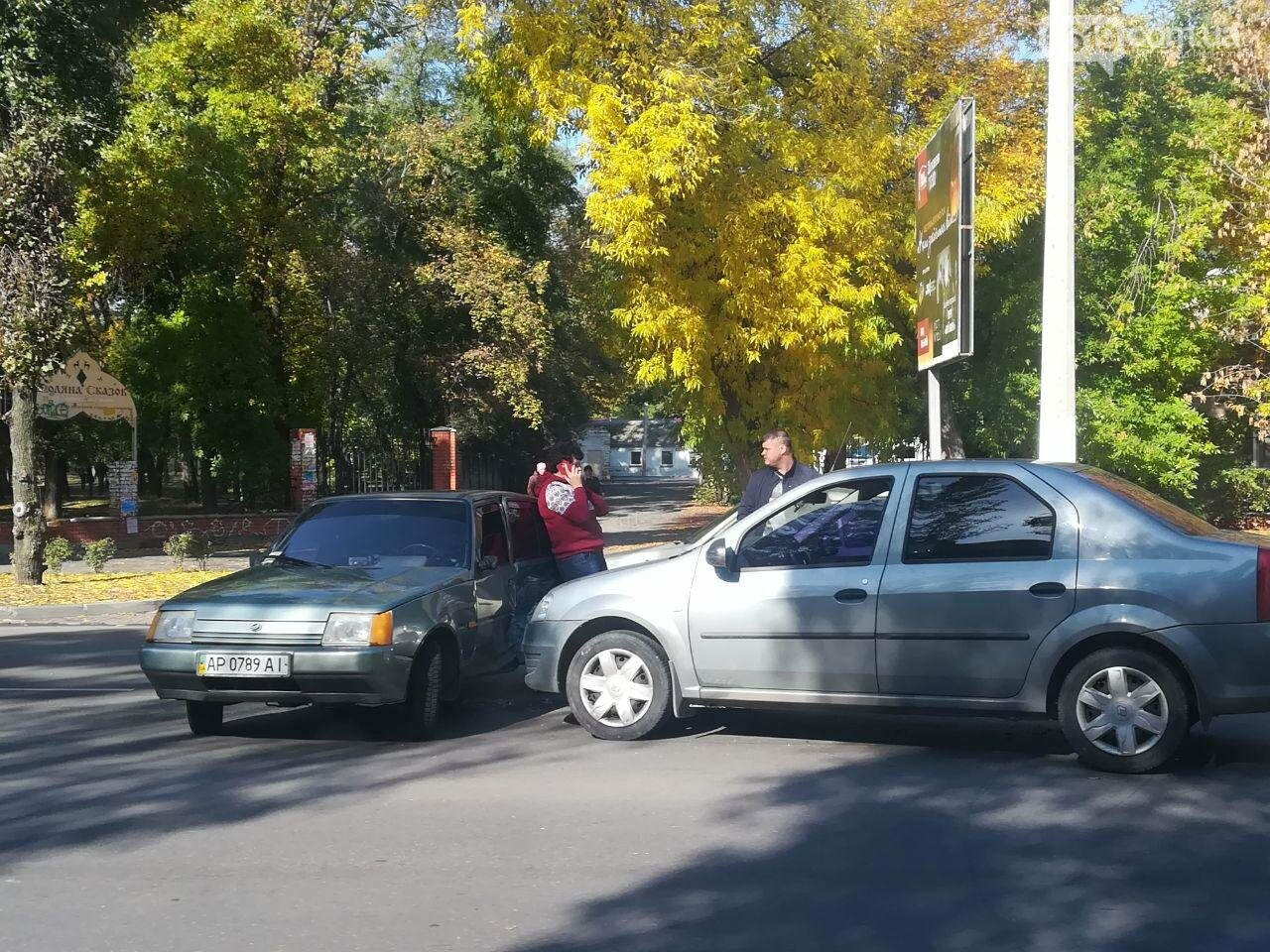 На центральном проспекте Мелитополя произошло ДТП, - ФОТО, фото-2