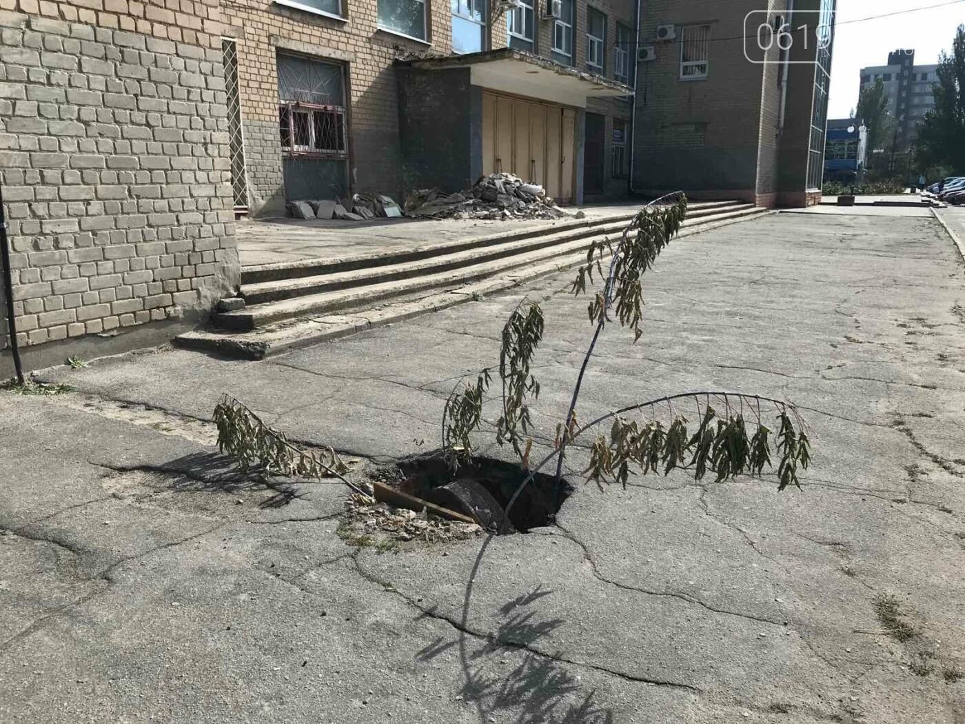 В центре Мелитополя образовалась ловушка для пешеходов, - ФОТО, фото-1