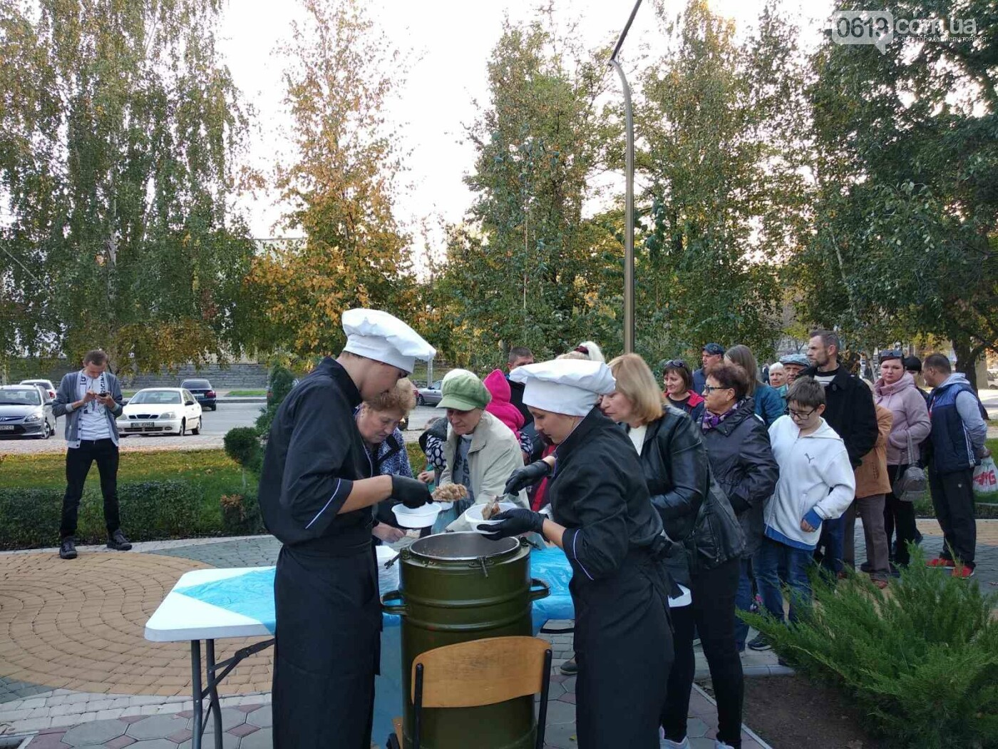 Жители микрорайона отметили День освобождения Мелитополя, - ФОТО , фото-8