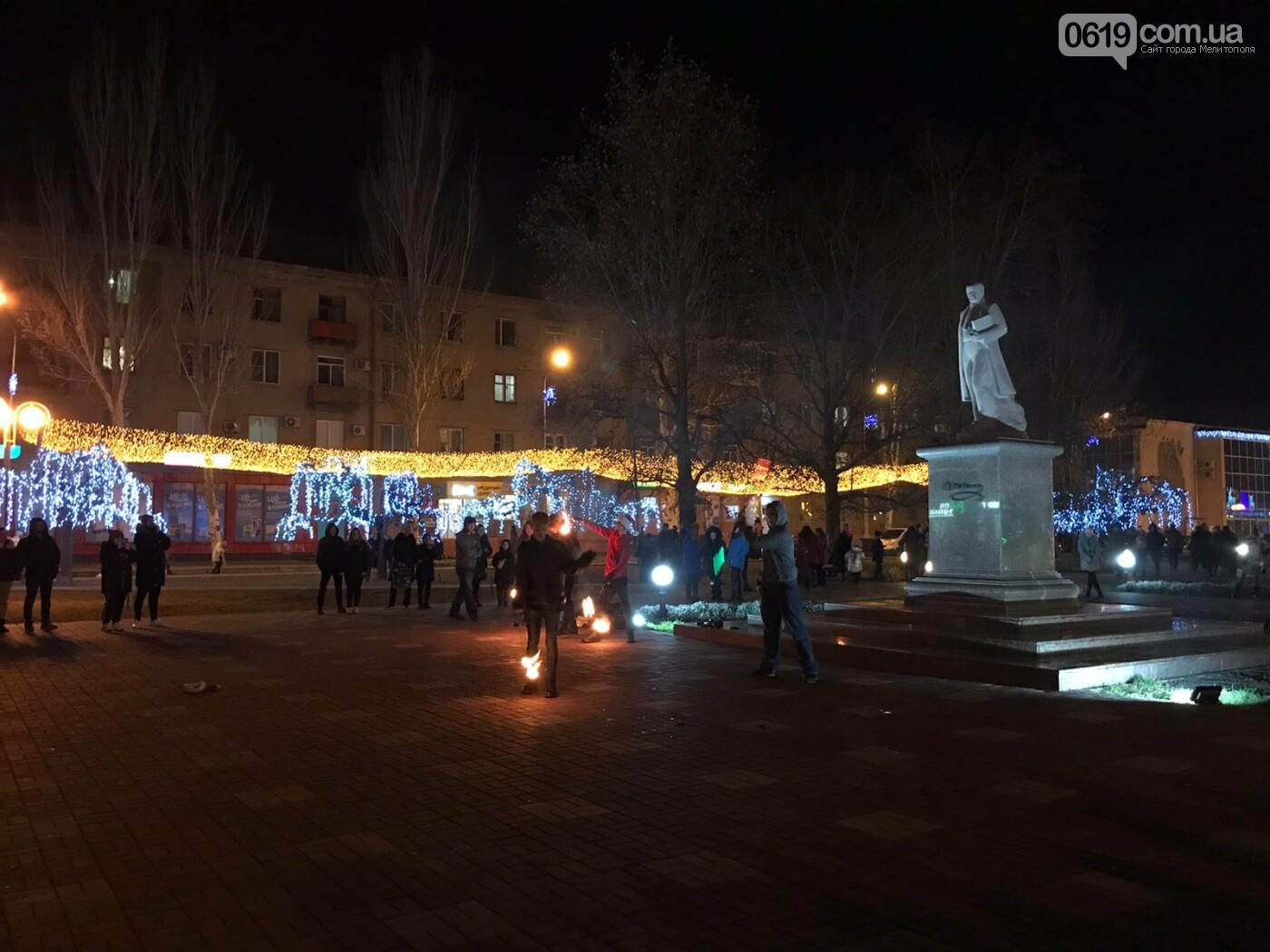 В Мелитополе зажглись тысячи огней, - ФОТО, фото-6