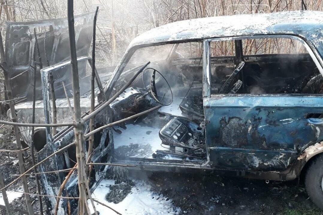 """У Мелітопольському районі згоріли """"Жигулі"""", фото-1"""