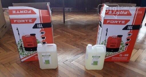 Медзаклади та сільські ради Мелітопольського району отримали санепід матеріали, фото-1