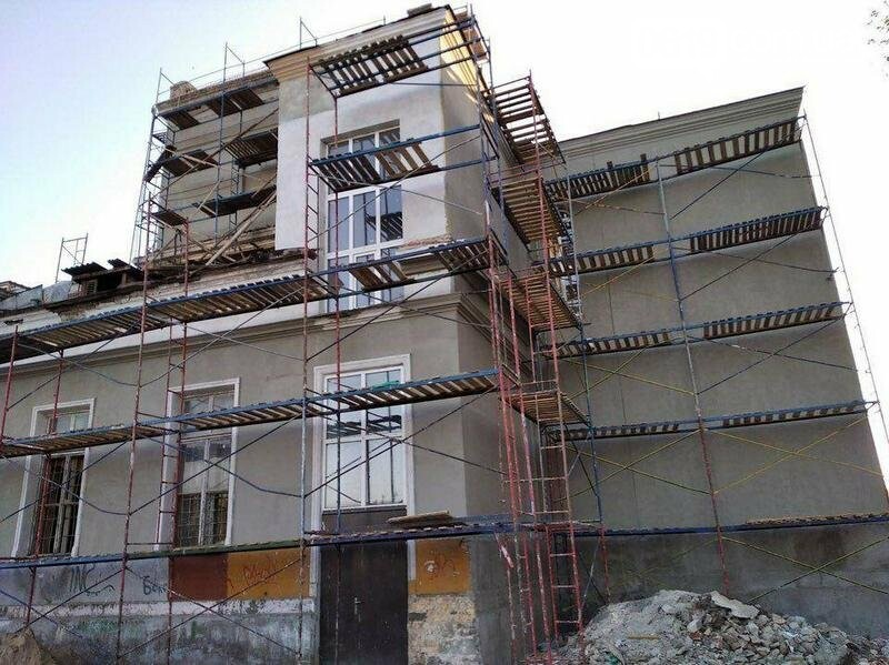 В мелитопольском ДК Железнодорожников продолжается капитальный ремонт, фото-3