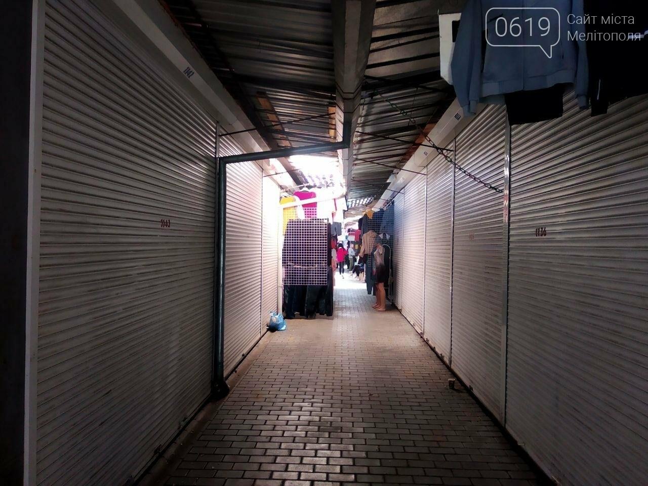В Мелитополе начали работать вещевые рынки, фото-2