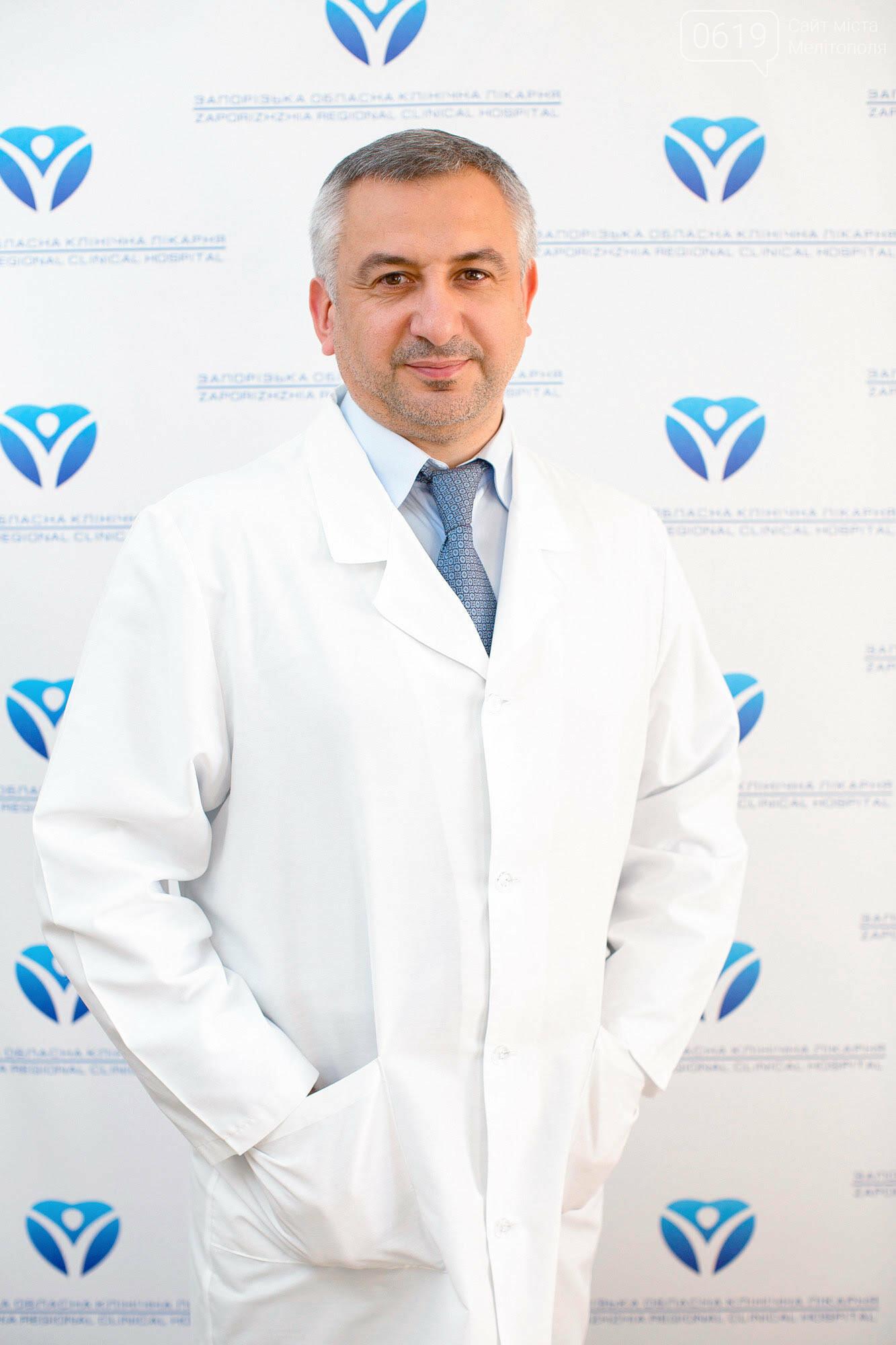 После операции на колене в Запорожской областной клинической больнице пациент встал и пошел уже на следующий день, фото-1