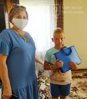 Детям воинов погибших в АТО накануне учебного года вручили подарки, фото-1