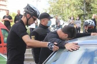 Велопатруль в Мелитополе получил боевое крещение, фото-1