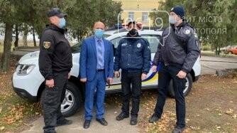 Офицер Семеновской громады Мелитопольского района получил служебный автомобиль, фото-1