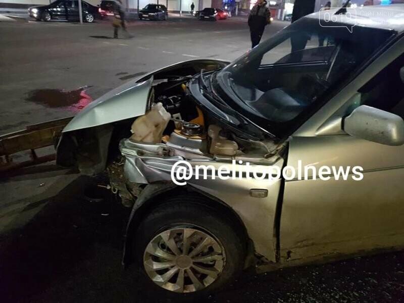 В Мелитополе ночью произошло ДТП: есть пострадавшие, фото-1