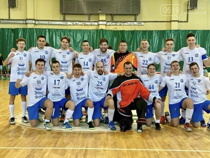 Команда по флорболу «Скала Мелиополь» вышла в финал высшей лиги чемпионата Украины, фото-1