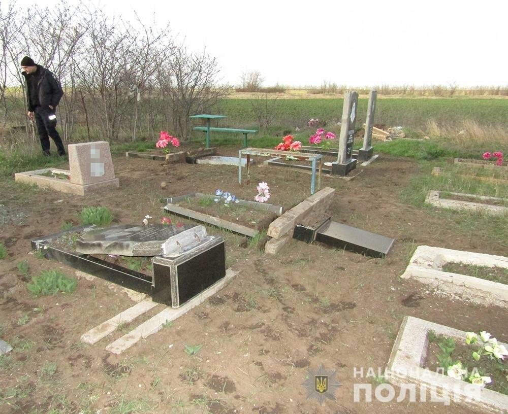 В Мелитопольском районе задержан подросток-вандалист, фото-4
