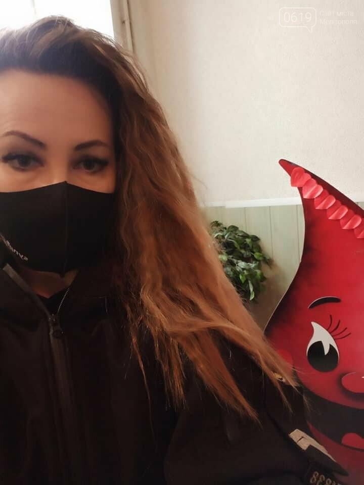 Мелитопольский донор Наталья Белых сегодня сдала кровь для онкобольных детей