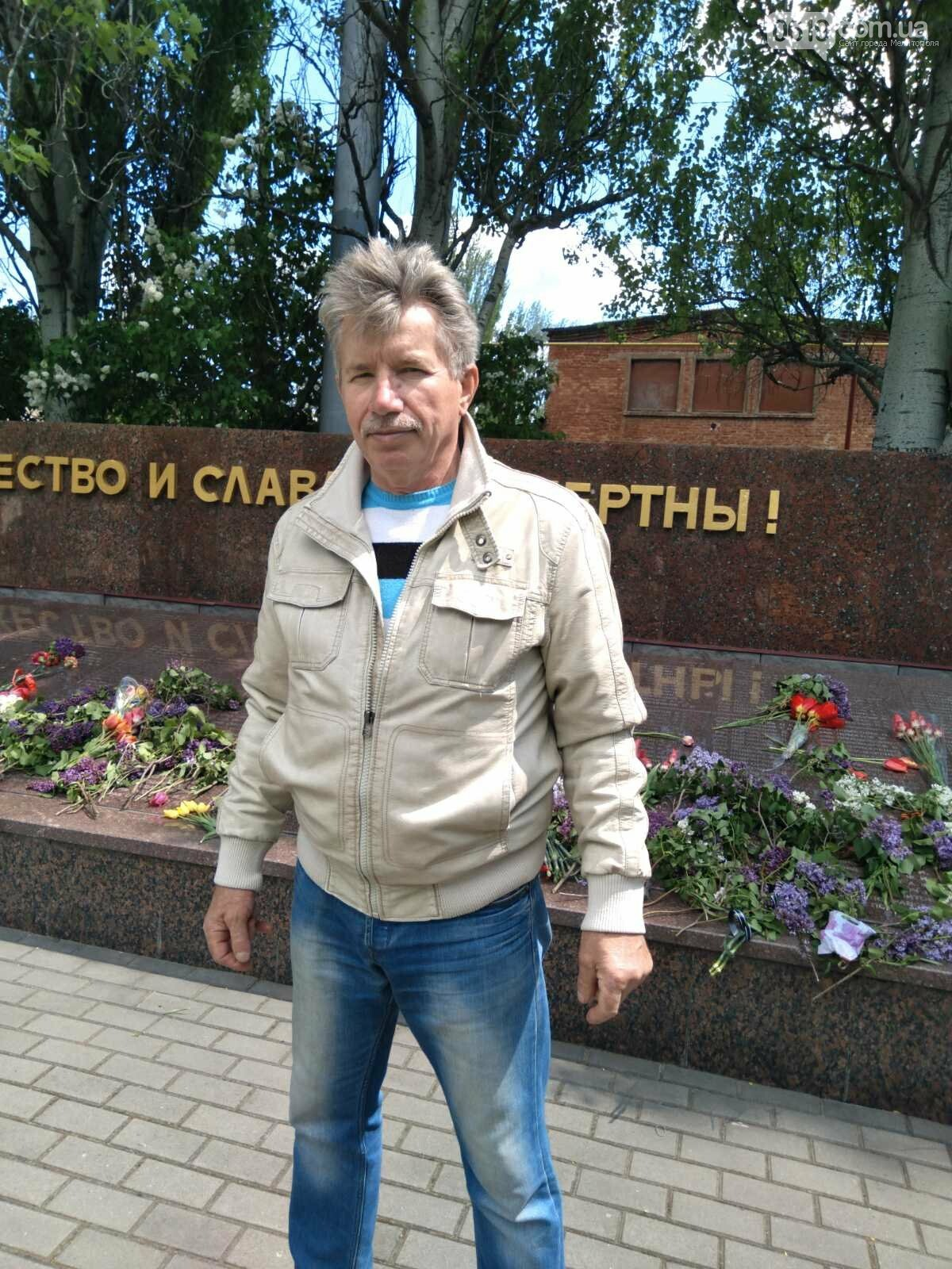 Николай Шокуров пришел почтить память всех, кто воевал за мирное небо