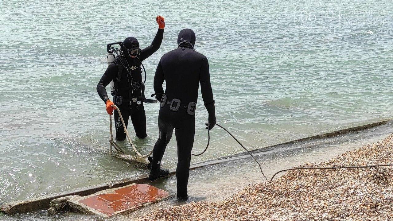 Акваторию дна Азовского моря накануне лета спасатели чистят и обследуют , фото-3