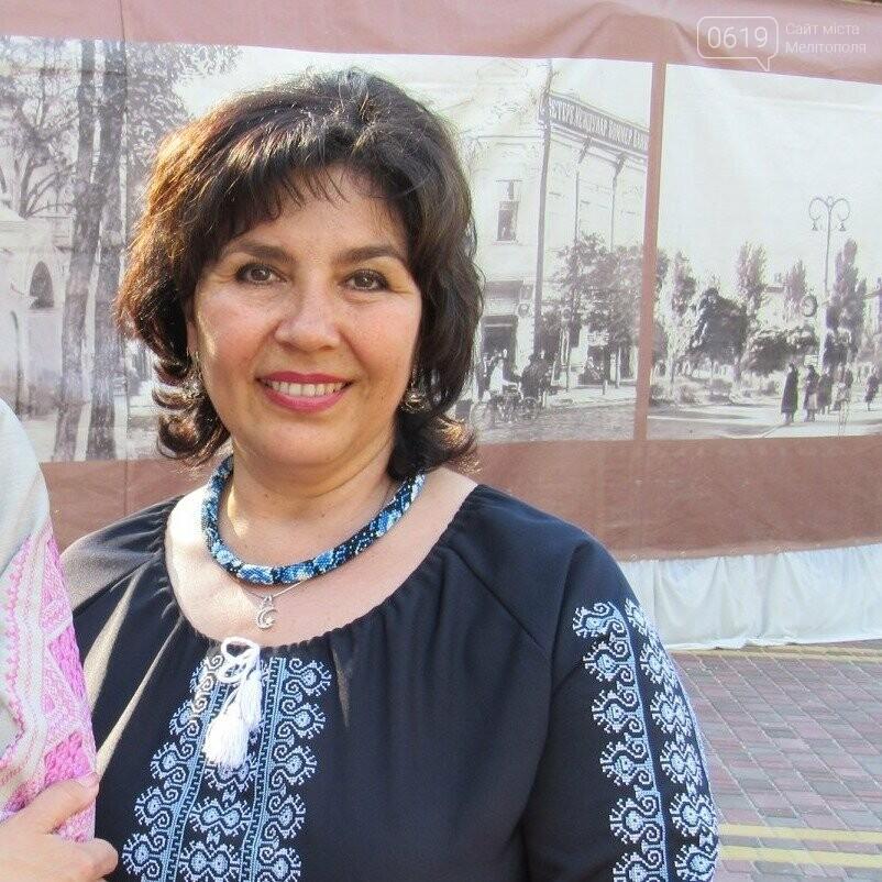 Лейлу Ибрагимову часто можно увидеть в вышиванке