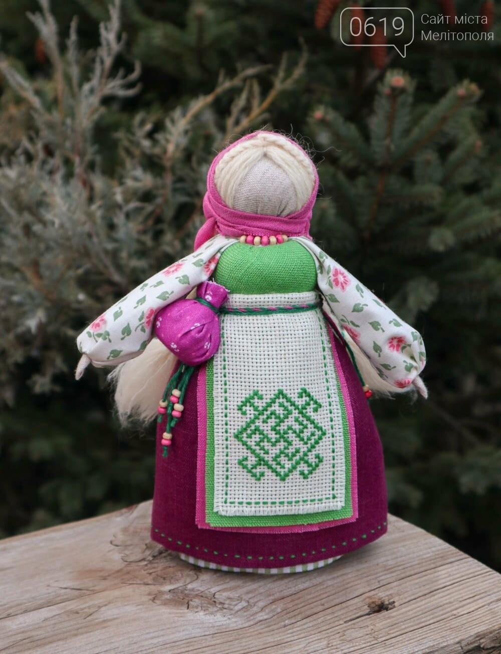 Куколки с вышитой одеждой от Екатерины Телегиной