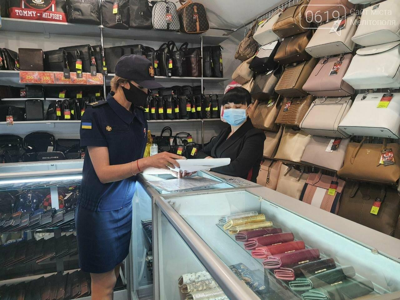 Спасатели провели разъяснительную работу в торгово-развлекательных центрах Мелитополя, фото-2