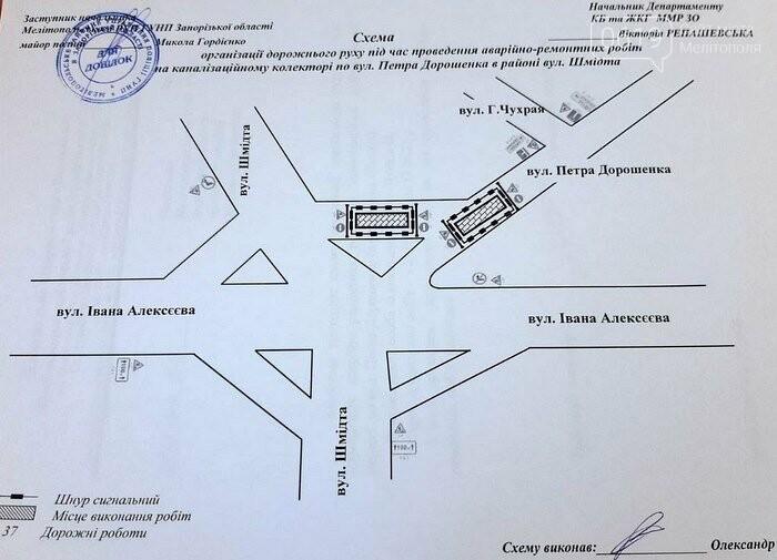 Где в течение месяца в Мелитополе будет не проехать?, фото-1
