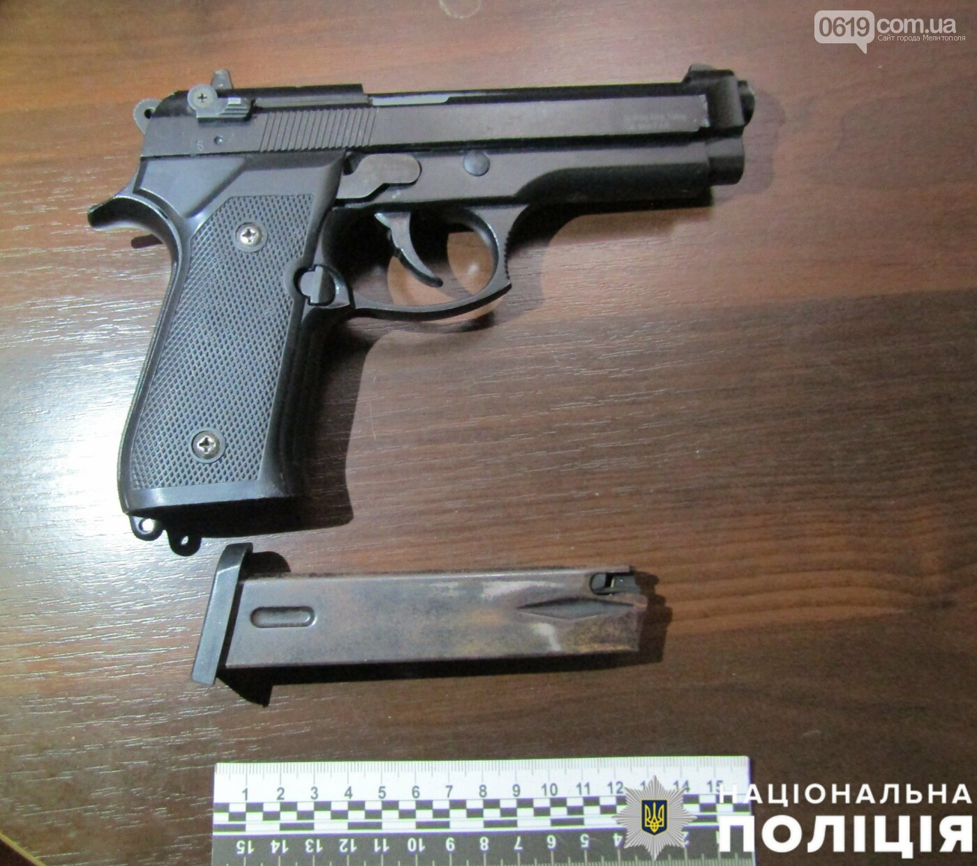 В Мелитополе мужчина угрожал матери, полицейские изъяли у него пистолет и патроны, фото-2