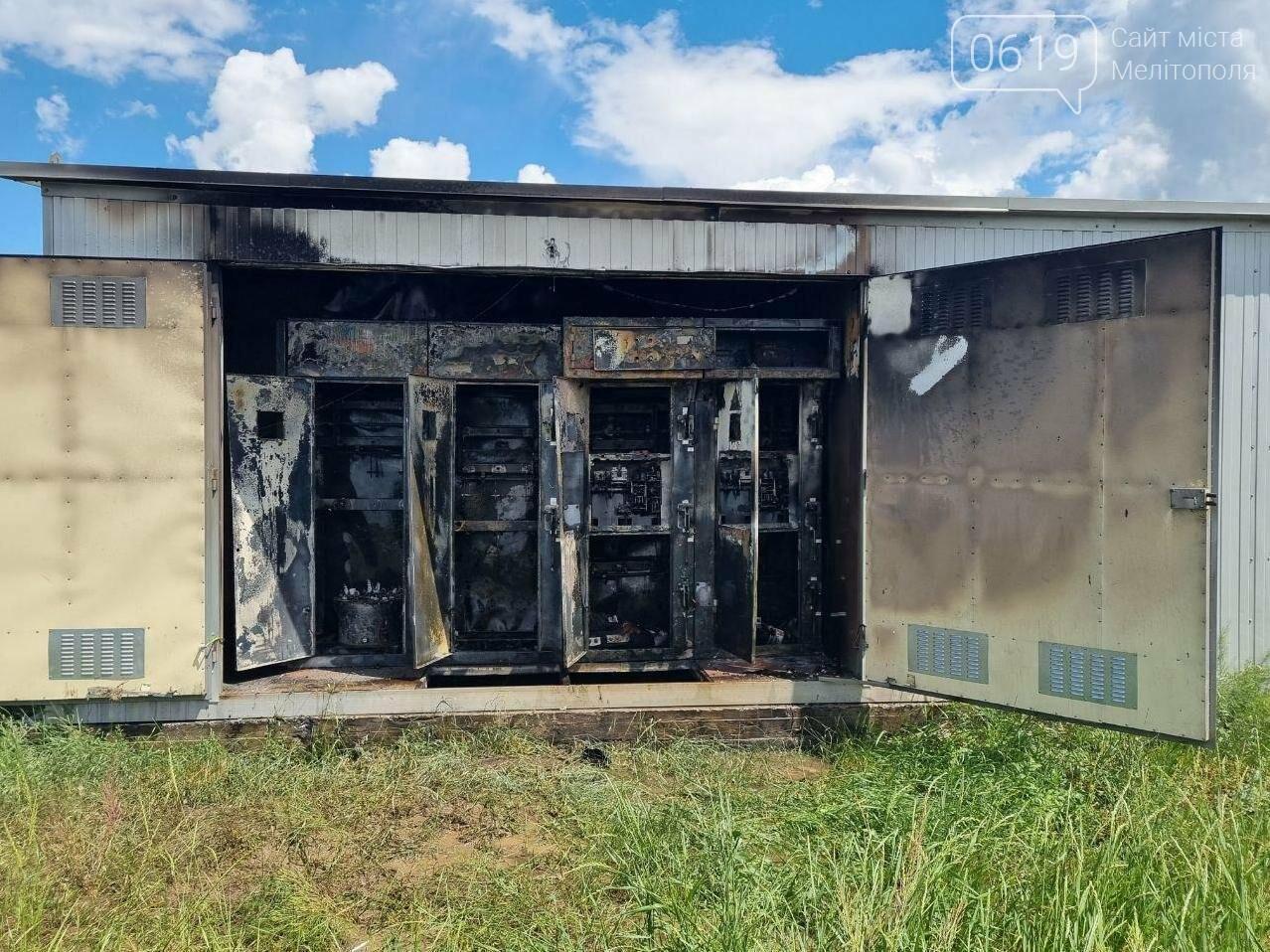 Пожар в Мелитопольском районе: горела трансформаторная подстанция, фото-2