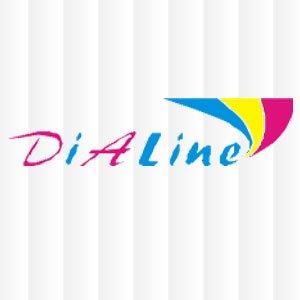 Логотип - «DiaLine» (Диалайн) производство и продажа жалюзи, роллет Мелитополь