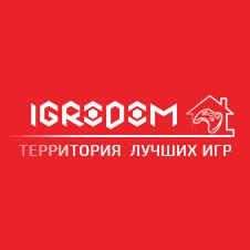 Логотип - Игродом. ТВ - игровые новости и обзор игр