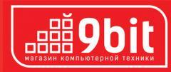 Логотип - 9bit.zp.ua - интернет магазин компьютеров и комплектующих Мелитополь