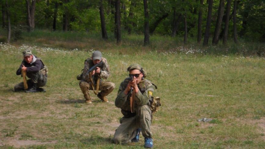 Активисты узнали о тяжести тренировок в боевой экипировке, фото-1