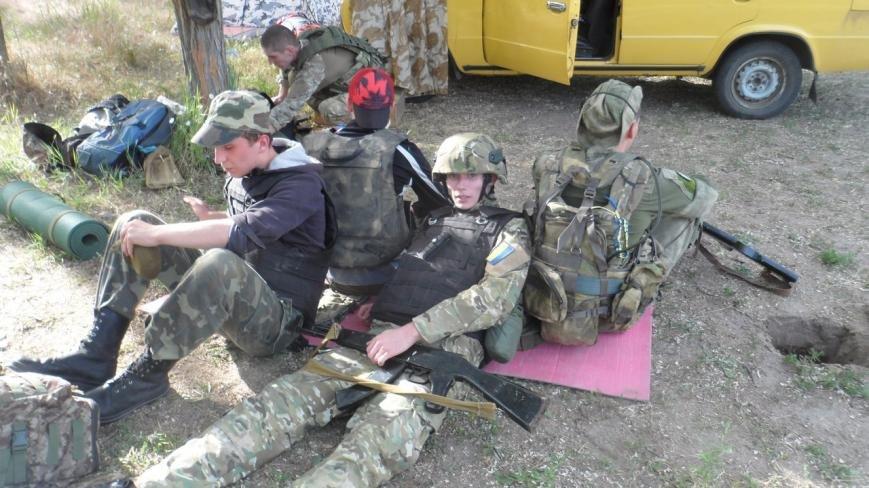 Активисты узнали о тяжести тренировок в боевой экипировке, фото-3