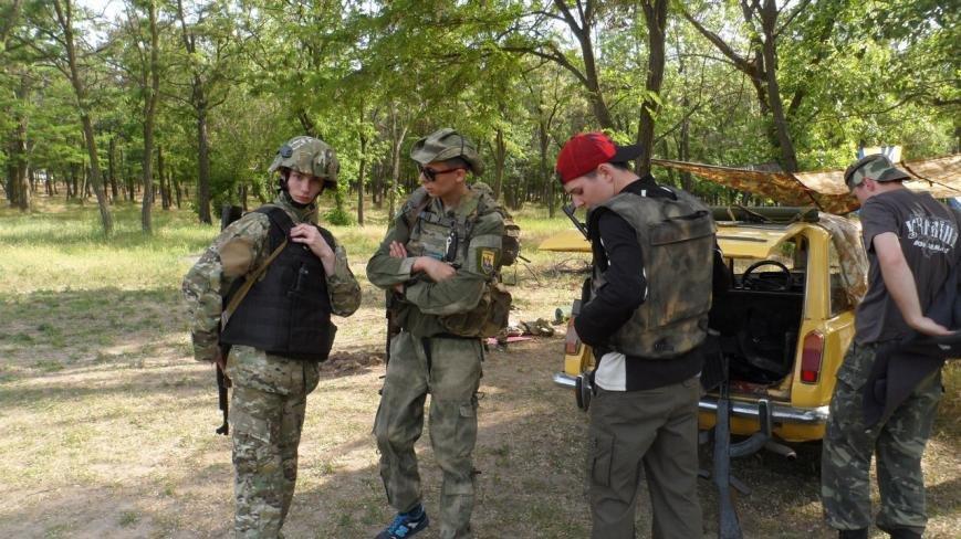Активисты узнали о тяжести тренировок в боевой экипировке, фото-5