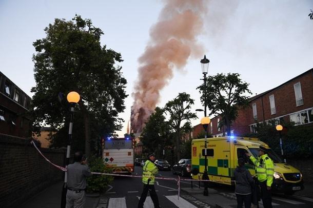 Пожар в Лондоне: пострадали 30 человек , фото-2, Фото Корреспондент.net