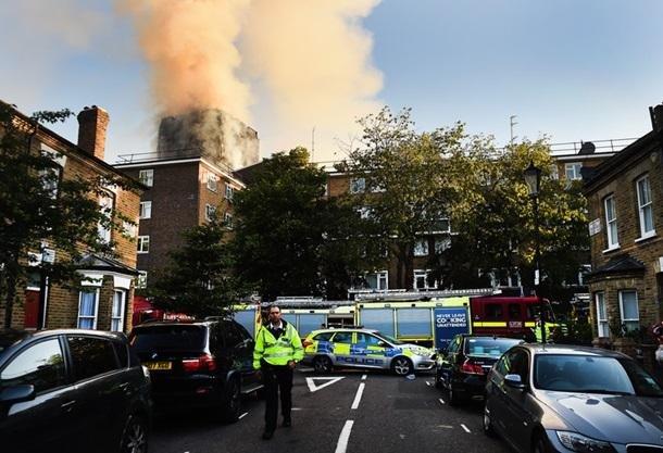 Пожар в Лондоне: пострадали 30 человек , фото-10, Фото Корреспондент.net
