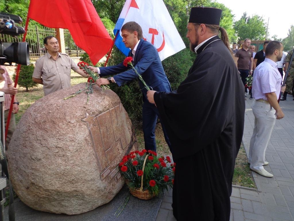 Благочинный принял участие в официальном мероприятии Дня памяти и скорби, фото-1