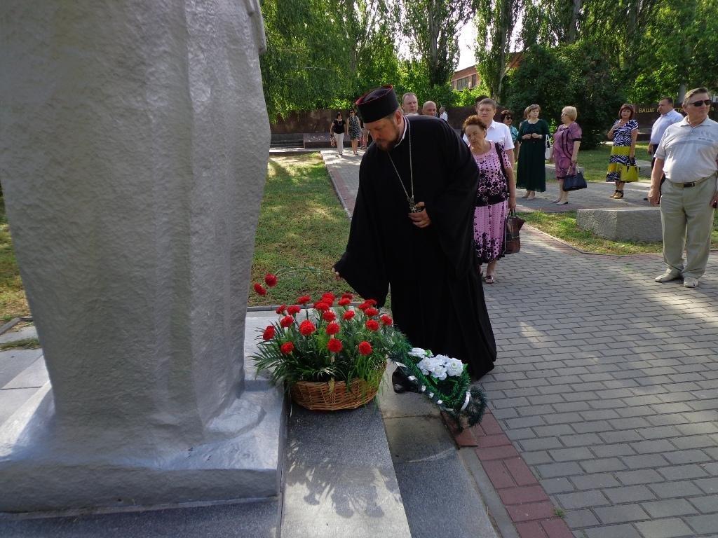 Благочинный принял участие в официальном мероприятии Дня памяти и скорби, фото-4