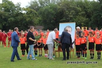 В Мелитополе почтили память Олега Олексенко , фото-2