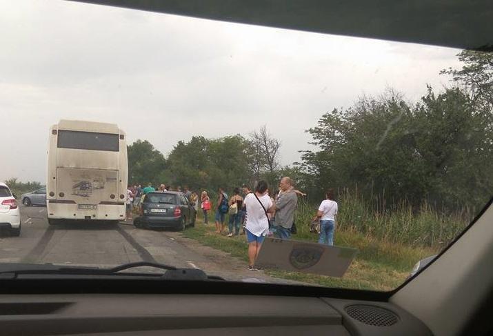 В ДТП на трассе пострадали люди, фото-3