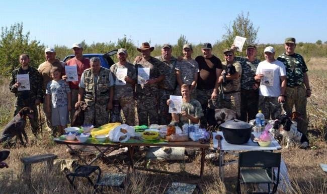 В Кирилловке состоялись соревнования по правильной охоте , фото-1