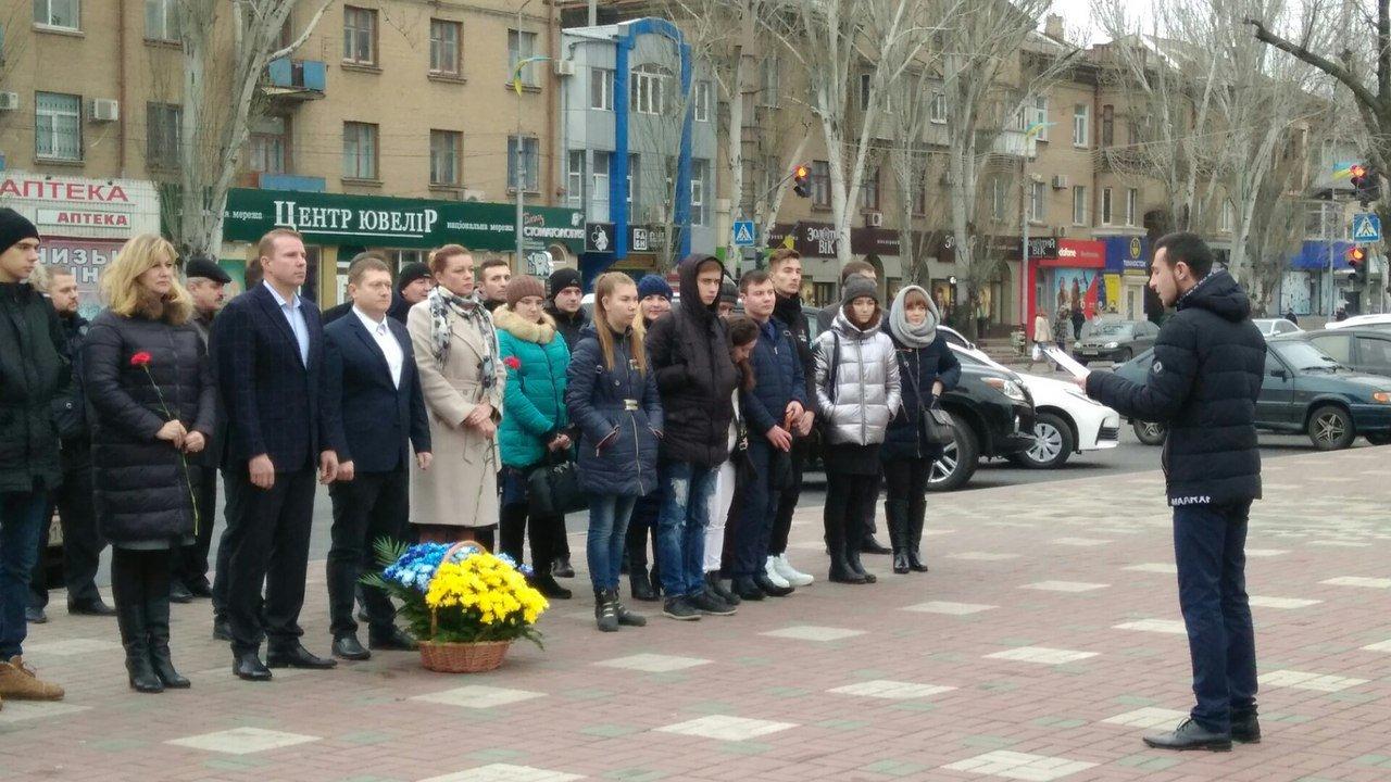 Мелитополь присоединился к празднованию Дня достоинства и свободы, фото-1, Фото сайта 0619