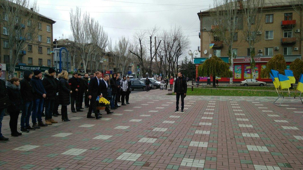 Мелитополь присоединился к празднованию Дня достоинства и свободы, фото-4, Фото сайта 0619