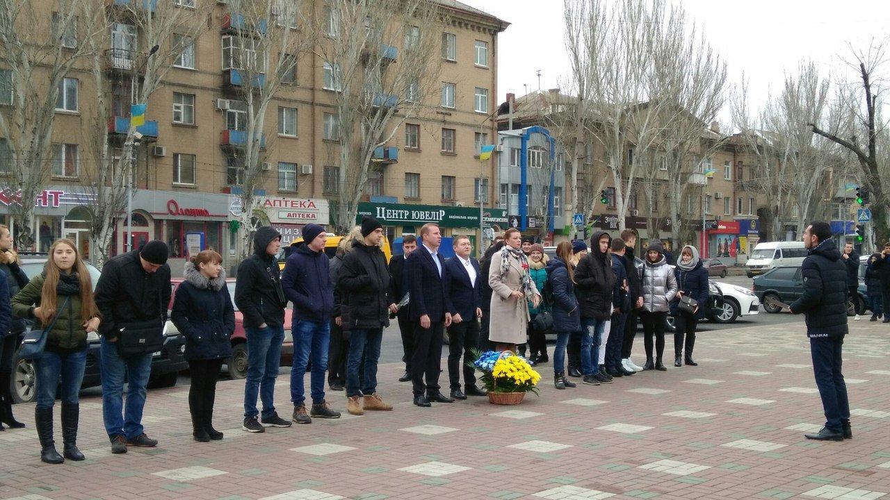 Мелитополь присоединился к празднованию Дня достоинства и свободы, фото-5, Фото сайта 0619