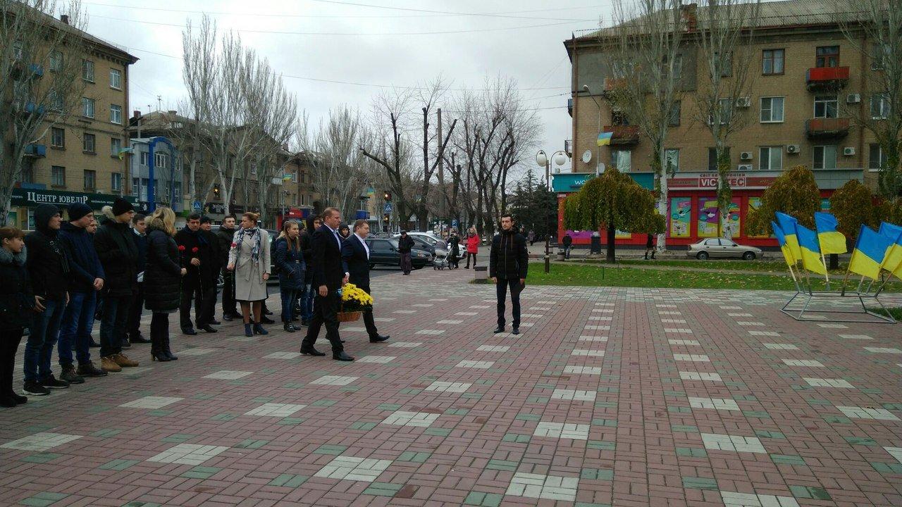 Мелитополь присоединился к празднованию Дня достоинства и свободы, фото-3, Фото сайта 0619