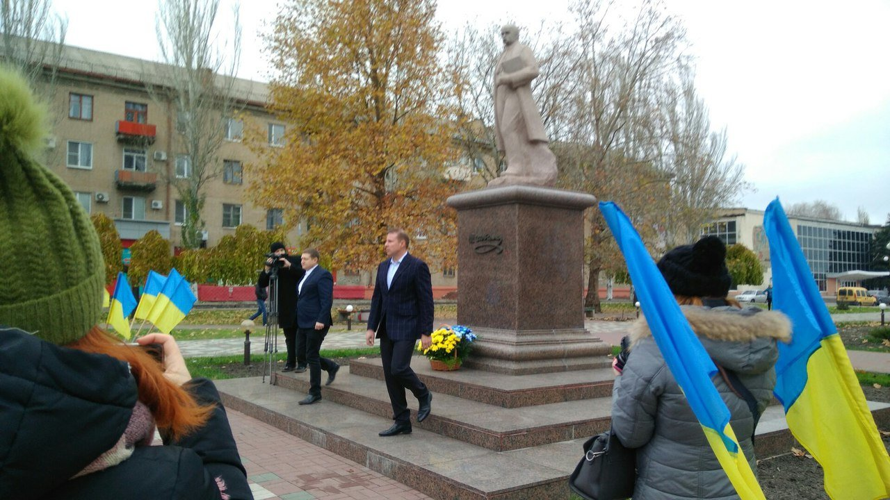 Мелитополь присоединился к празднованию Дня достоинства и свободы, фото-6, Фото сайта 0619